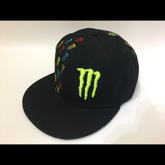 3877688fa4e Monster energy drink hat cap FITTED 7 1 2. M 5aac0d74daa8f6dd4bfb6b5a